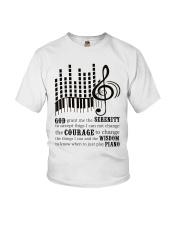 Piano Player Youth T-Shirt thumbnail