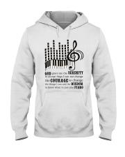 Piano Player Hooded Sweatshirt thumbnail