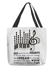 Piano Player All-over Tote thumbnail