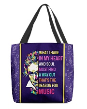 Beethoven Music Quotes All-Over Tote tile