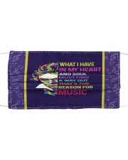Beethoven Music Quotes Mask tile