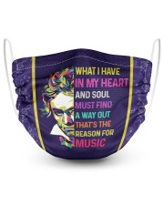 Beethoven Music Quotes Masks tile