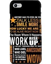 Hamilton quote poster Phone Case thumbnail