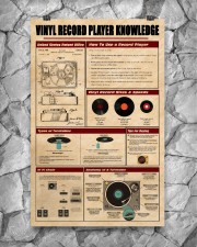 Vinyl Record Player Knowledge Poster 11x17 Poster aos-poster-portrait-11x17-lifestyle-13