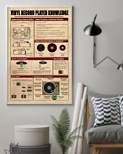 Vinyl Record Player Knowledge Poster 11x17 Poster lifestyle-poster-1