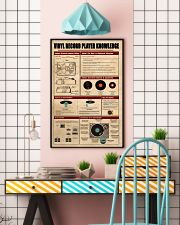 Vinyl Record Player Knowledge Poster 11x17 Poster lifestyle-poster-6