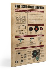 Vinyl Record Player Knowledge Poster 20x30 Gallery Wrapped Canvas Prints thumbnail