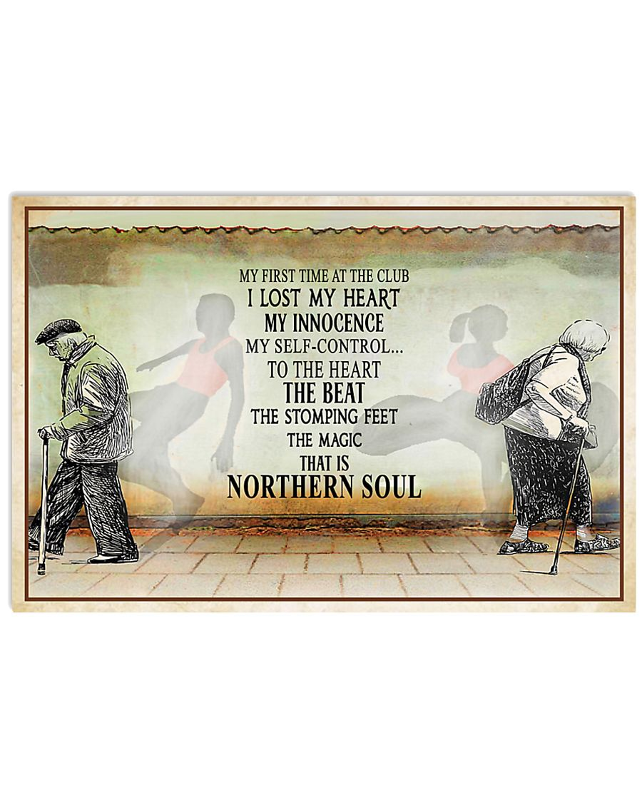 Northern Soul Poster 17x11 Poster