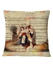 La ci darem Mozart Square Pillowcase thumbnail
