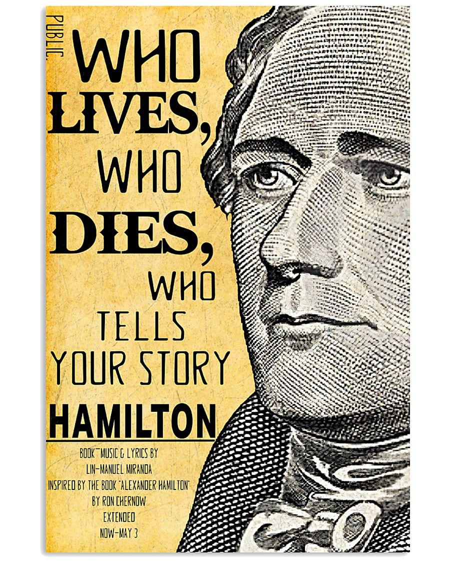 Hamilton 2 poster 11x17 Poster