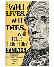 Hamilton 2 poster 11x17 Poster front