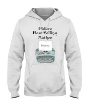 Best Selling Author personalized Hooded Sweatshirt thumbnail