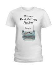 Best Selling Author personalized Ladies T-Shirt thumbnail