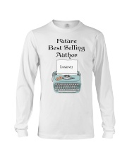 Best Selling Author personalized Long Sleeve Tee thumbnail