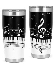Piano And Music Notes 20oz Tumbler thumbnail