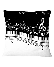 Piano And Music Notes Square Pillowcase thumbnail