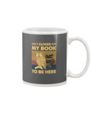 I closed my book to be here Mug thumbnail