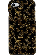 Gold Music Note Phone Case tile