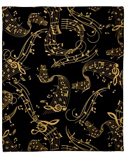"Gold Music Note Fleece Blanket - 50"" x 60"" thumbnail"