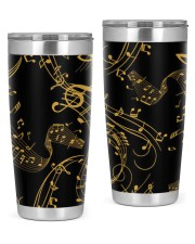 Gold Music Note 20oz Tumbler thumbnail