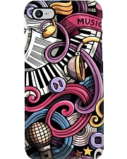 Cartoon Music Doodles Phone Case thumbnail