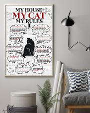 My house my cat my rules 11x17 Poster lifestyle-poster-1