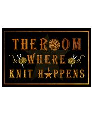 The room knit happens poster 17x11 Poster front