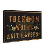 The room knit happens poster 24x16 Gallery Wrapped Canvas Prints thumbnail