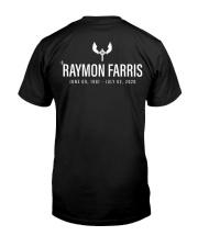 XINK x Raymon Farris Memorial Design Premium Fit Mens Tee back