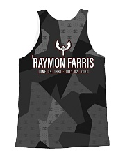 xink raymon farris tank All-over Unisex Tank back