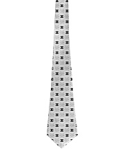 X INK Brand Pattern BLACK Tie front