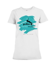 Premier Pilates - April Schultz Premium Fit Ladies Tee thumbnail