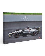 2019 Indy500 Rich Energy Driver Jordan King 30x20 Gallery Wrapped Canvas Prints front