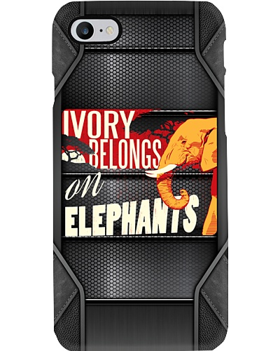 Ivory Belongs On Elephants