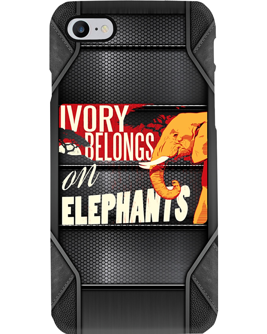 Ivory Belongs On Elephants Phone Case