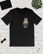 Tiger in Pocket Classic T-Shirt lifestyle-mens-crewneck-front-17
