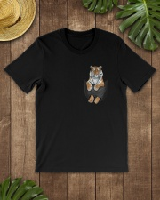 Tiger in Pocket Classic T-Shirt lifestyle-mens-crewneck-front-18