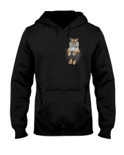 Tiger in Pocket Hooded Sweatshirt tile