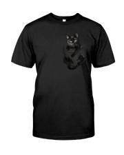 Black Cat in Pocket Premium Fit Mens Tee thumbnail