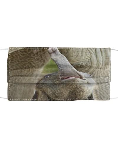 Baby Elephants Mask