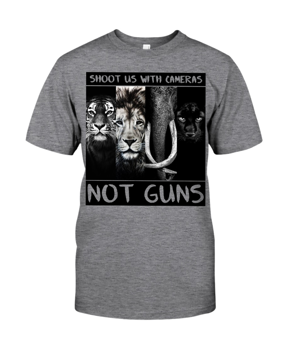 Shoot Us With Cameras Not Guns Classic T-Shirt