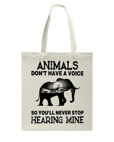 Animals Dont Have A Voice