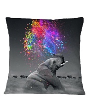Elephants Splash Square Pillowcase thumbnail