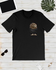 Owl in Pocket Classic T-Shirt lifestyle-mens-crewneck-front-17