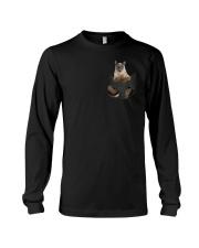 Cat in Pocket Long Sleeve Tee thumbnail