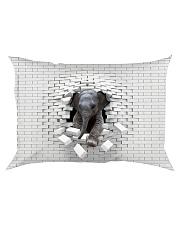 Love Elephants - Printfull Rectangular Pillowcase thumbnail