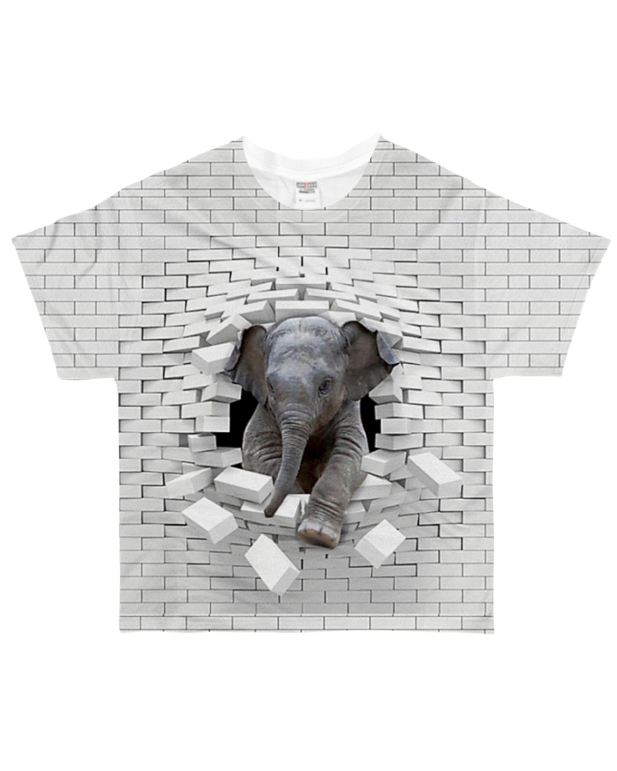Love Elephants - Printfull All-over T-Shirt