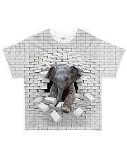 Love Elephants - Printfull All-over T-Shirt front