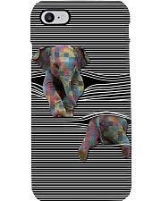 Love Elephants Phone Case tile