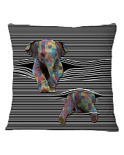Love Elephants Square Pillowcase thumbnail
